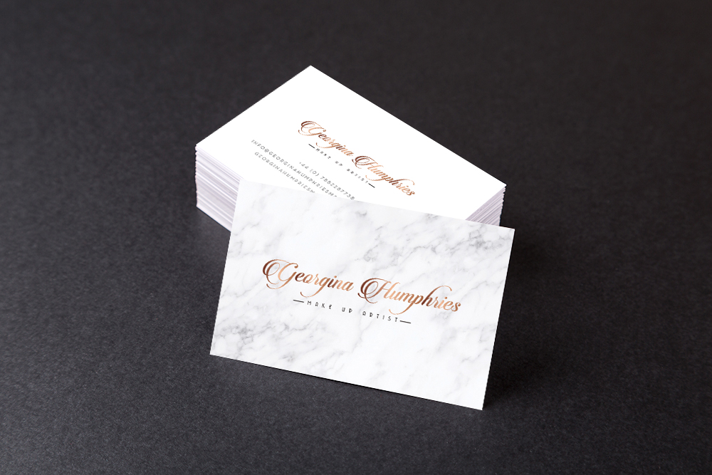 GEORGINA ARTIST BUSINESSCARD